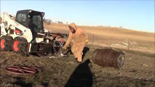 How to Remove a Full Ball of Wire from the Dakota Wire Winder and Post Puller