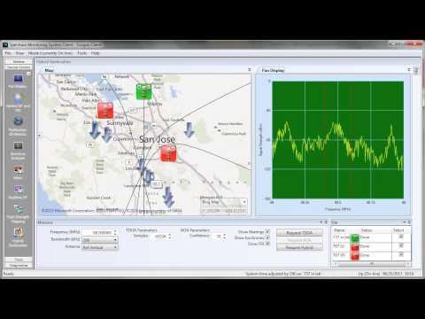 TCI Scorpio Spectrum Monitoring System hybrid AOA/TDOA geolocation