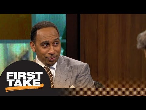 Stephen A. Smith: LeBron James would make Lakers 'a show again' | First Take | ESPN