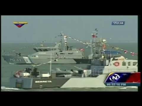 Desfile Aeronaval Dia de la Armada de Venezuela 2014