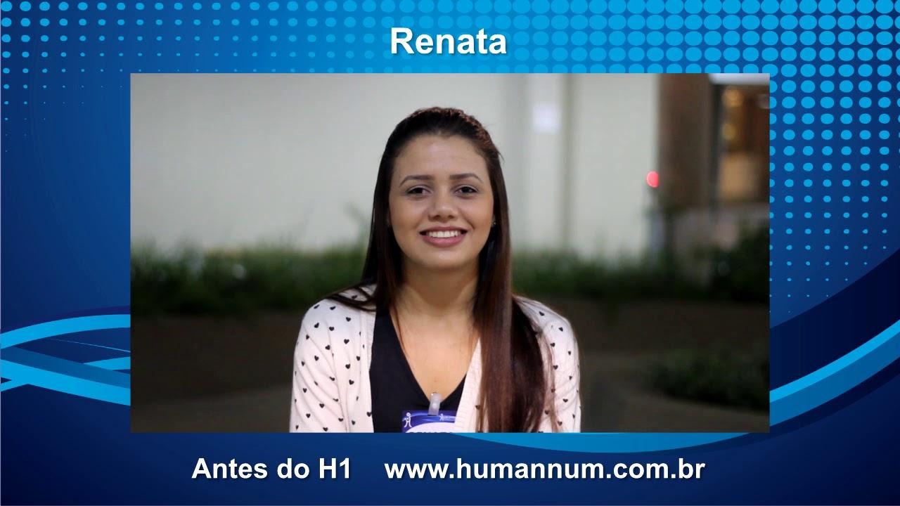 Depoimento Treinamento H1 - Renata