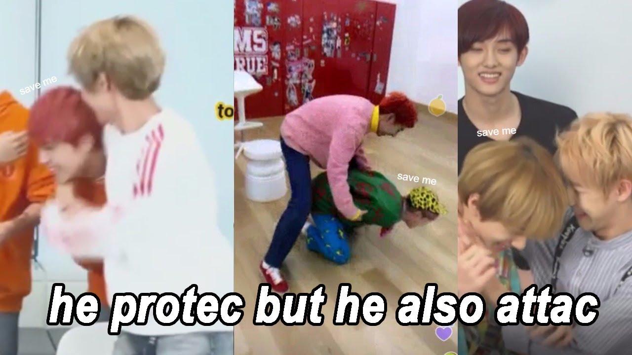 [NCT 런쥔/RENJUN] Renjun Attacking His Members 😈