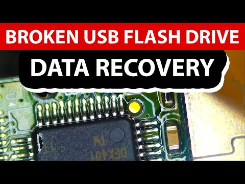 Broken Lexar USB Flash Drive Data Recovery