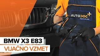 Oglejte si video vodič, kako zamenjati Vzmeti na BMW Z3
