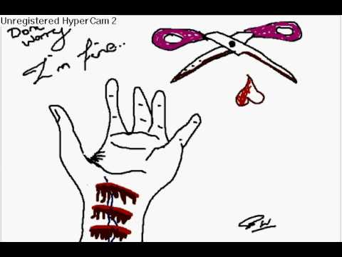 Self Harm Speed Drawing
