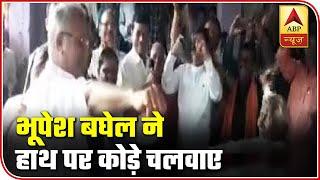 Chhattisgarh CM Bhupesh Baghel Follows Tadition On Govardhan Puja | ABP News