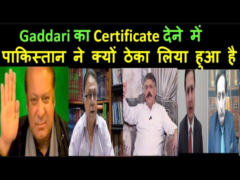 Gaddari  & Pakistan | Pak media on India latest|Pak media on China & MODi| Pak media news online