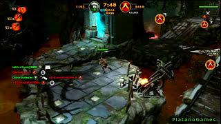 God of War: Ascension - Bog of The Forgotten - Team Favors of The God - Online Multiplayer - HD