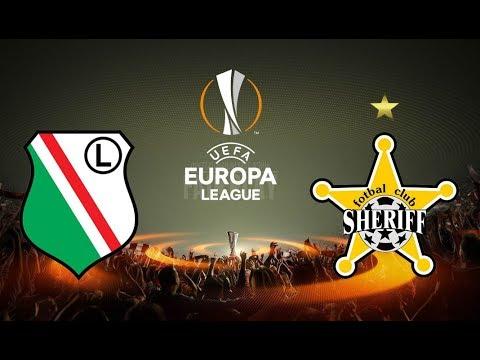 Лига Европы-2017. Легия - Шериф. 1-1. 17.08.2017