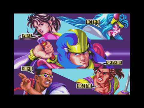Mystic Warriors / arcade opening intro & attract mode / 1993