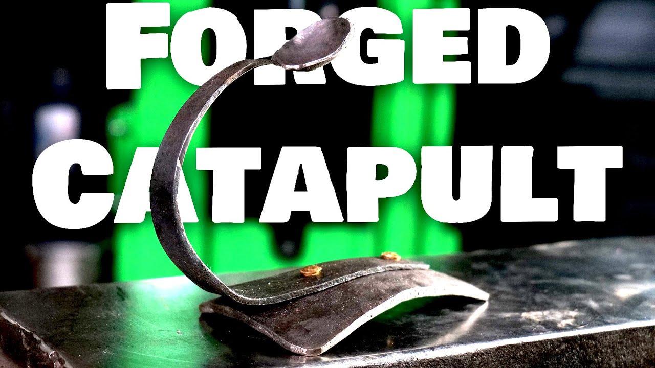 Forging a Desk Catapult!
