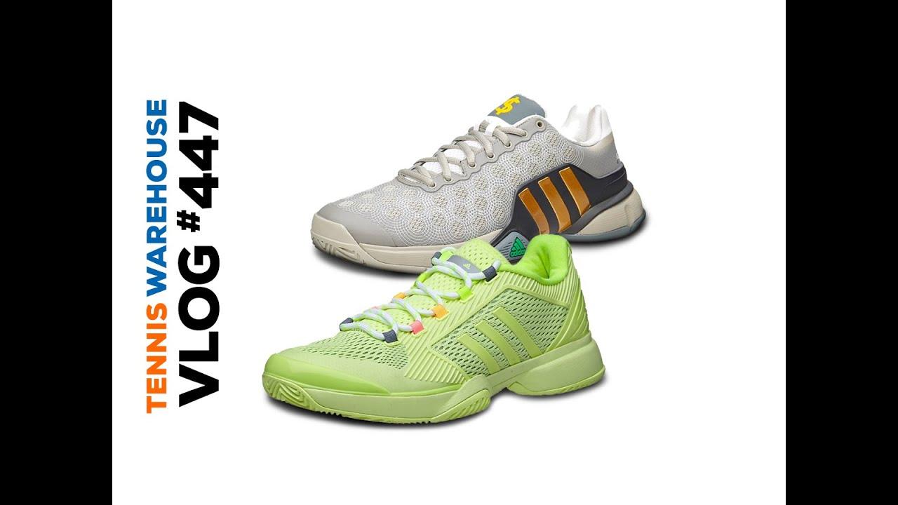 sale retailer 773ff 696fc VLOG  447 - adidas Barricade Wall St (Sneak Peek) and more! Tennis Warehouse