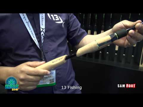 ICAST 2015, 13 fishing envy and and omen rods