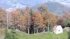 Pyrénées,randonnée en Comminges.Escapade à la cabane de Juzet sous le massif du Cagire (31).