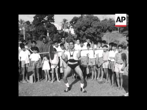 ATHLETES PREPARE FOR SOUTH PACIFIC GAMES  - SOUND