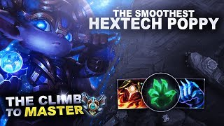 THE SMOOTHEST POPPY GAME! - Climb to Master | League of Legends