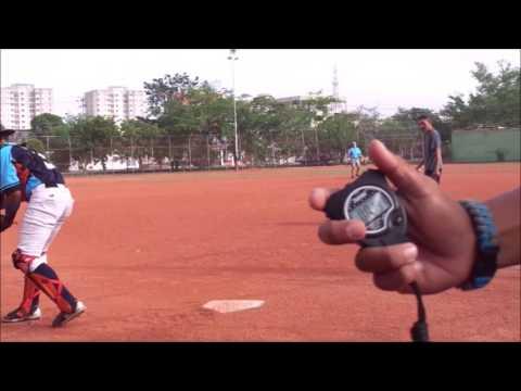 Nelson Vasquez - Catcher - PAC Baseball Recruiting Video
