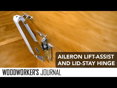 All-In-One Hinge -- Lift Assist, Soft Close and Lid Stay
