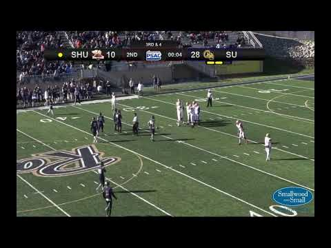 NCAA Division II Football: Seton Hill @ Shepherd - YouTube