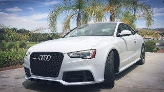 Минусы Audi RS5. Антирадар в США. Последний V8 в Ауди РС5.
