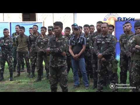 Talk to Men in Jolo, Sulu 5/27/2017
