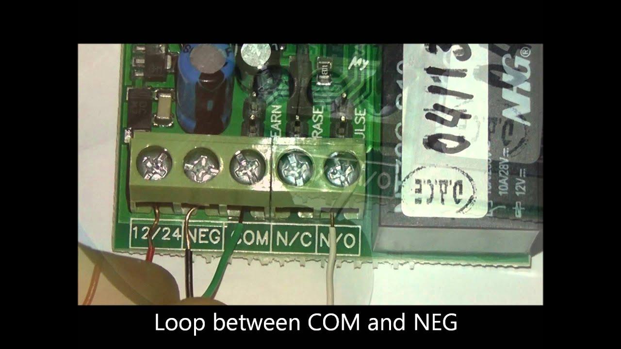Connecting An External Receiver