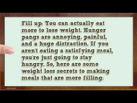 Eat More and Drop Pounds   Healthy Foods to Eat to Lose Weight 5 2