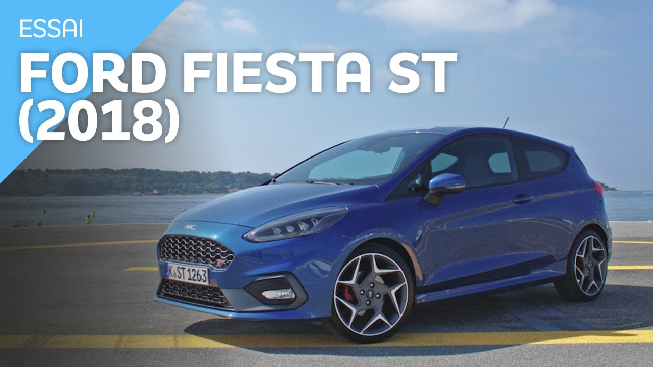 essai ford fiesta st 2018 youtube. Black Bedroom Furniture Sets. Home Design Ideas