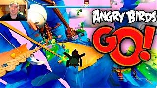 Angry Birds GO Первая Ежедневная ГОНКА. Angry Birds GO First Daily RACE!