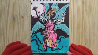 Speed drawing: Archangel Michael.