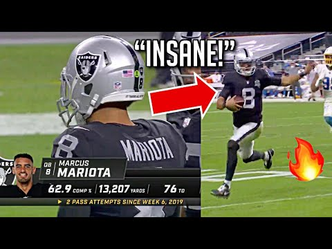 Marcus Mariota 'ELECTRIC' Debut Highlights vs Chargers (PHYSICAL!)