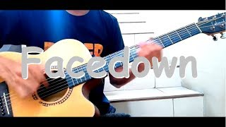 (The Red jumpsuit Apparatus) Facedown [FINGERSTYLE]