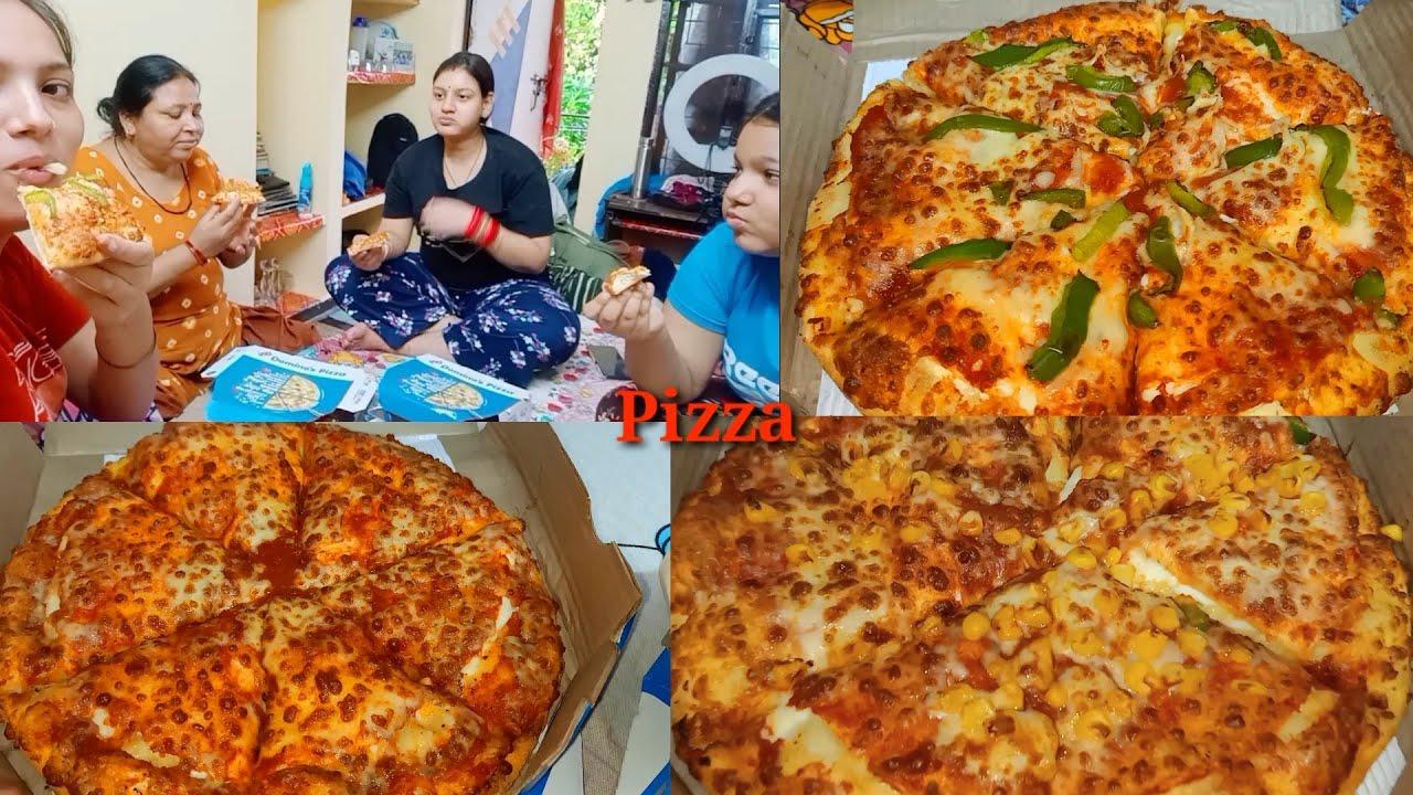 Uttrakhand Jane Se Pehle Ki Pizza Party 🍕 | Is Bar Pizza Me Khoob Sari Cheese Mili 😋