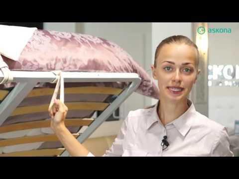 Купить кровать Marta на сайте Askona.kz