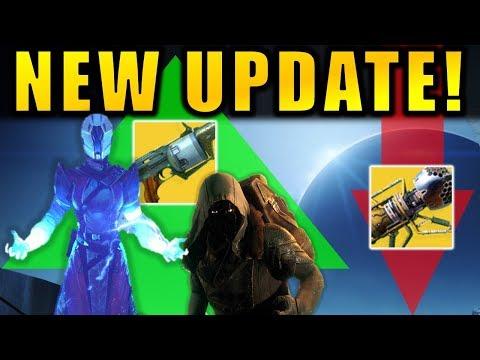 Destiny 2: NEW UPDATE! Xur Changes! Raid Loot Buffs! Wardcliff Nerf! - Patch 2.2.1 thumbnail
