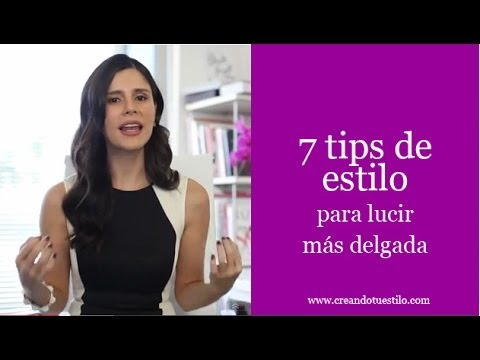 7 tips de estilo para lucir más delgada , How to look slimmer in clothes