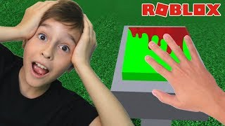 DO NOT PRESS THE BUTTON ON ROBLOX | FAMILY PLAYING