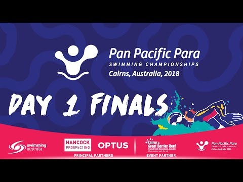 Day 1 Finals - Pan Pacific Para Swimming Championships