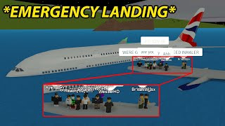 Download lagu i had to make an emergency landing in the water.. (realistic role-play)