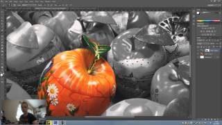 Color splash effect in Photoshop Cs6 ( Dutch Tutorial ) [HoeGaatDat]