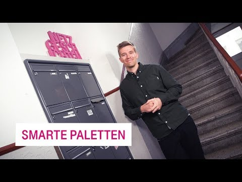 Social Media Post: smarte Paletten - Netzgeschichten