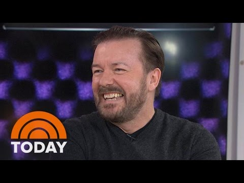 Ricky Gervais: I'm A Workaholic Between The Hours Of 10 And 4 | TODAY