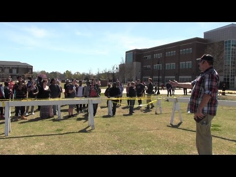 Open Air Preaching at Middle Tennessee State University (MTSU) | Kerrigan Skelly