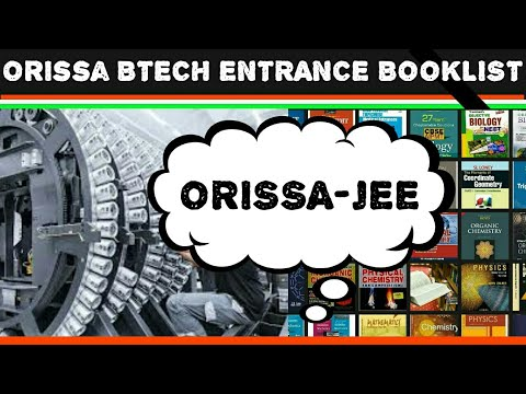 ORISSA JEE BTECH ENTRANCE EXAM BOOKS||TOPPER'S PREPARATION STRATEGY/BOOKLIST/ENGINEERING/TIPS