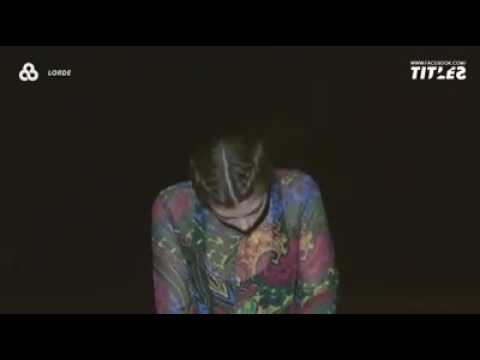 Lorde - Liability (Legendado/tradução)