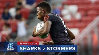 Sharks v Stormers | Super Rugby 2019 Rd 3 Highlights