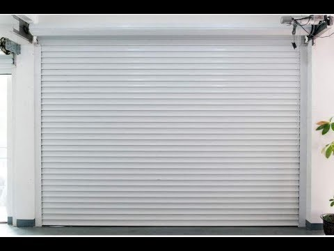 Installation video for electric rolling shutters