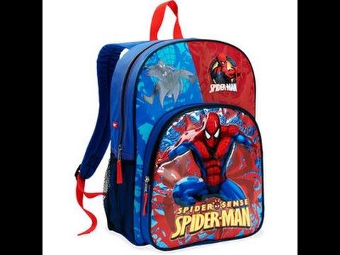 Niños Araña Mochilas Spiderman Hombre Niños Para Del nUp6Oaq0w