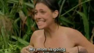 Repeat youtube video Survivor: China - Put Your Top Back On, Amanda! - 15x02 -