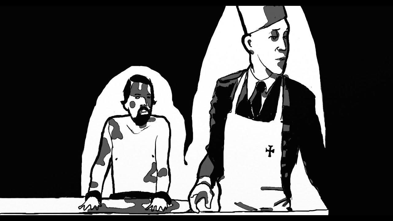 Sc ne passeur d 39 hommes malcolm mcdowell jeune nazi for Cuisine americaine film youtube